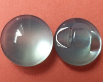 10 small buttons light blue 11mm (1246) button