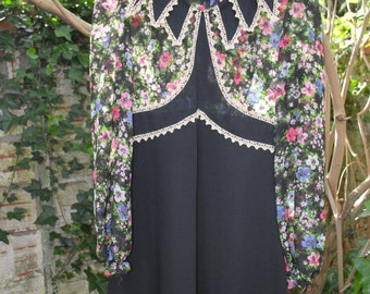 Dress from sixties and seventies