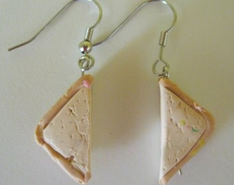 peanut butter and jelly sandwich earings