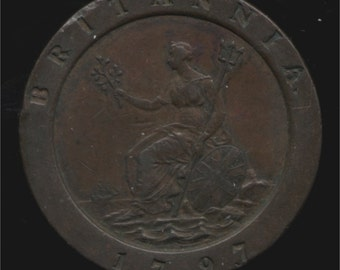 King George iii 1797 penny