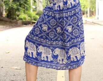 Thai Skirts Blue Skirts Gypsy Skirts Harem Skirts Hippie Skirts Boho Skirts Bohemian Skirts Charming Skirts Elephant Skirts