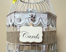 Hexagon Birdcage Card Holder, Birdcage, Bird Cage, Wedding Card Birdcage, Birdcage Money Holder, Table Decoration
