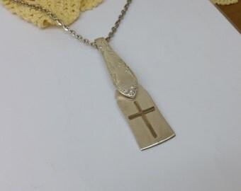 Silverware pendant flatware jewelry BH121