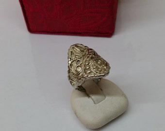 16.2 mm silver fashion ring RP140