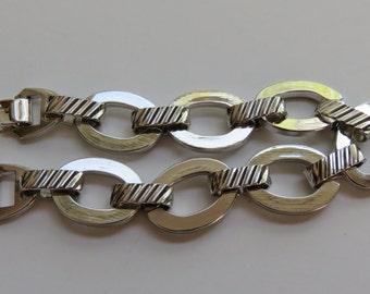 """Vintage Sarah Coventry Bracelet 1970 """"Simplicity"""" Bracelet Vintage Jewelry Silver Tone Bracelet Costume Jewelry Sarah Coventry Bracelet"""