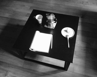 Handmade Tea/Coffee Table with Chinese Lacquer Finishing双人大漆小茶几