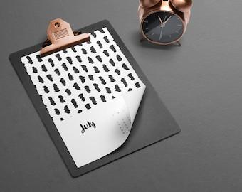 Printable monthly calendar 2017, Calendar download, Calendar 2017, Calendar pdf, 2017 Desk calendar, Printable calendar, Wall calendar 2017