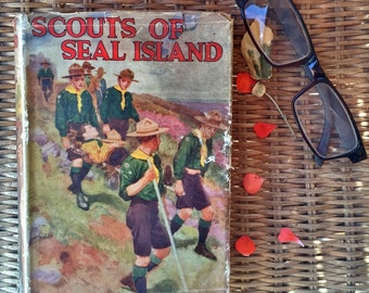 Scouts of Seal Island - Percy. F. Westerman - Vintage Hardback 1936 Reprint - A. & C. Black