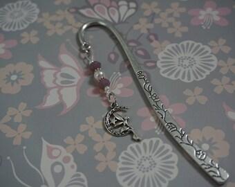 Metal Bookmark, Custom Bookmark, Fairy Bookmark