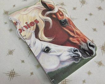 "Altered Children's Book Journal ""PONIES"""