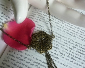 """""""Flower & Pearl"""" necklace"""