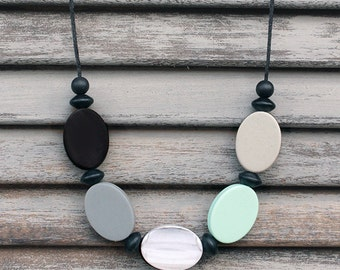 MODERN MINT - Silicone Necklace