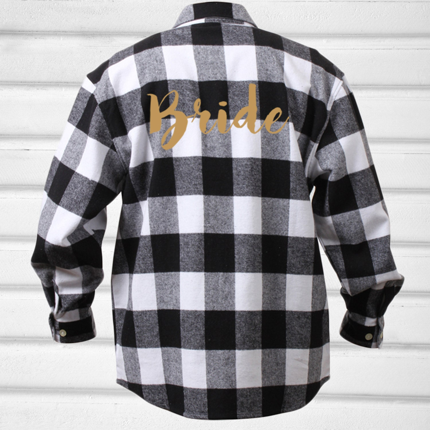 Bride Flannel Shirt More Colors Red And Blue