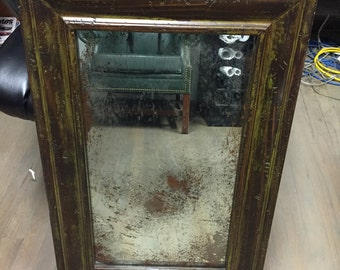 "ANTIQUE MIRROR 40"" x 50"" (REPRODUCTION)"