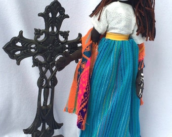 Day of the Dead Stump Doll: Rosario