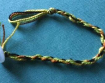Loom Woven Multicolored Friendship Bracelet