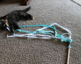 Ribbon Cat Wand