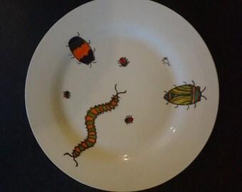 Creepy Crawlies Dinner Plate