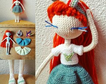 Doll crochet Paulette