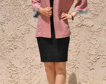 Pink Woven Jacket