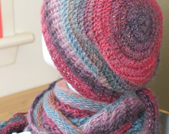 Slouchy Beanie Hat from Isle of Skye very warm wool and nylon