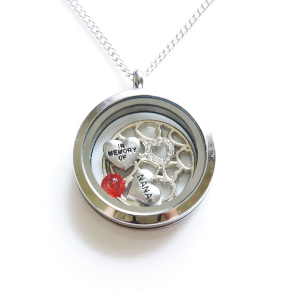 Memorial Necklace With Picture