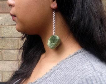 Mini Green Pom Poms