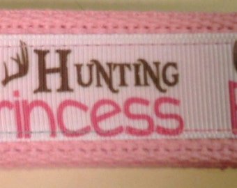 Hunting Princess key fob