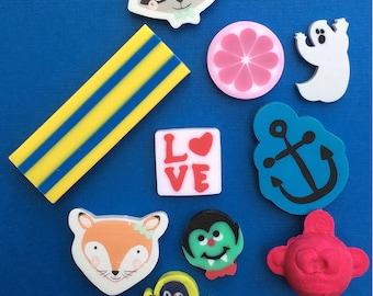 Assorted Eraser Collection Set #3