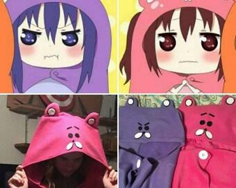 Himouto! Umaru-chan Hoodie Cape