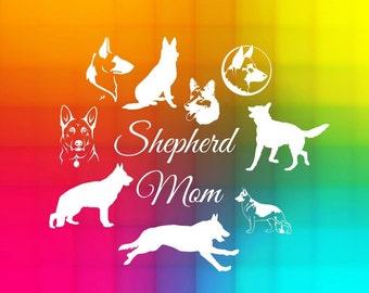 german shepherd SVG, Cut File for Silhouette Studio, Cricut design space, SCAL files, instant download, digital files, dogs svg files