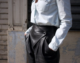 Vintage leather pants