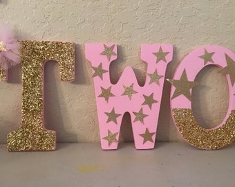 Ballerina inspired Letter - wooden -We can do any theme!