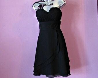 Little Strapless Black Dress | Milano
