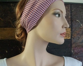 Hair band headband small-minded Karo pepita wristband headdress