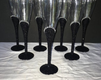 elegant plastic champagne flutes sold 12 dozen per order