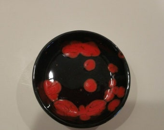 RUBY RED TRAY (L)