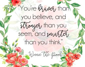 Winnie the Pooh Print