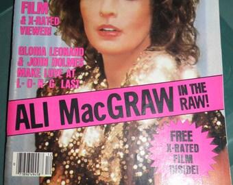 Vintage High Society December 1980 Magazine