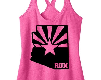Run AZ Tank Top