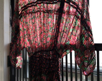 Unique Vintage Gauze Dress