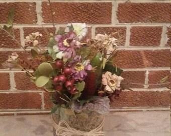 Summer Harvest Floral Arrangement