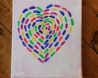 Cutie Heart Nursery Art