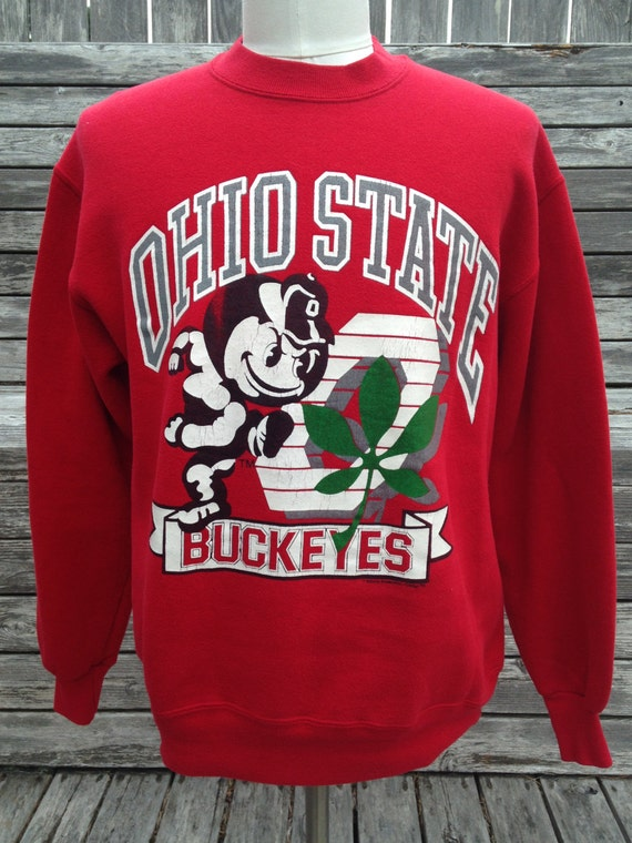 Vintage OHIO STATE BUCKEYES sweatshirt - Medium - Jerzees 90s