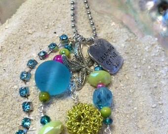 Sea Dream Ocean Bling Necklace