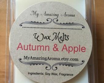 Autumn & Apple Soy Wax Melt/Tart