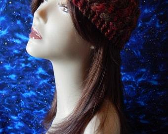 Hand Knit Headband ~ Fallin'