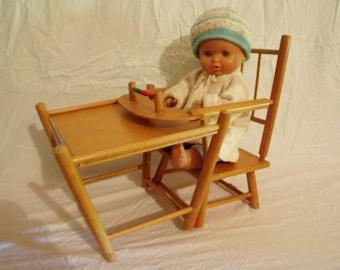 Doll high chair, doll Chair 50s, folding