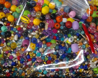 big bag of beads