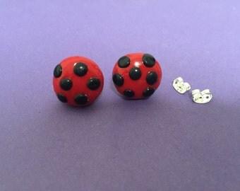 Miraculous Ladybug Earrings - Miraculous Ladybug Costume